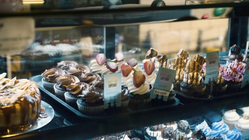 Close Up Cupcakes 2