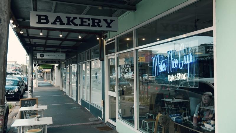 Outside 'Bakery' (1)